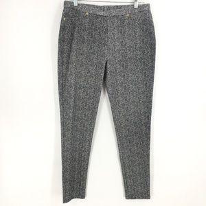 Like New Micheal Kors knit black white pant